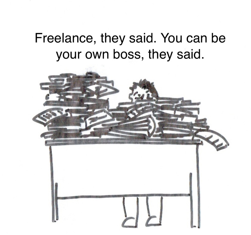 Freelance cartoon 3